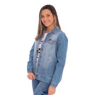Jaqueta Jeans   Sky Aee Surf Feminina