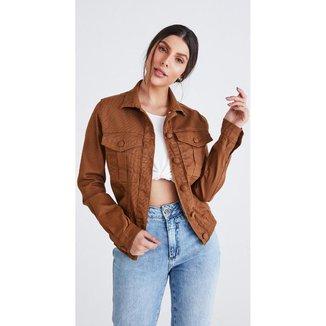 Jaqueta jeans zait cropped vera