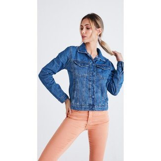 Jaqueta jeans zait lis