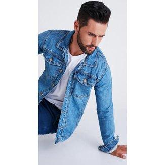 Jaqueta jeans zait luca