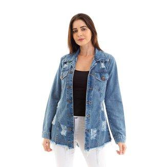 Jaqueta Kassis Jeans  Feminina