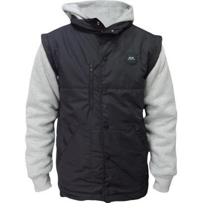 5a7efdeefe Jaqueta Moletom Oakley Sport Puff Fleece Masculino - Preto - Compre Agora