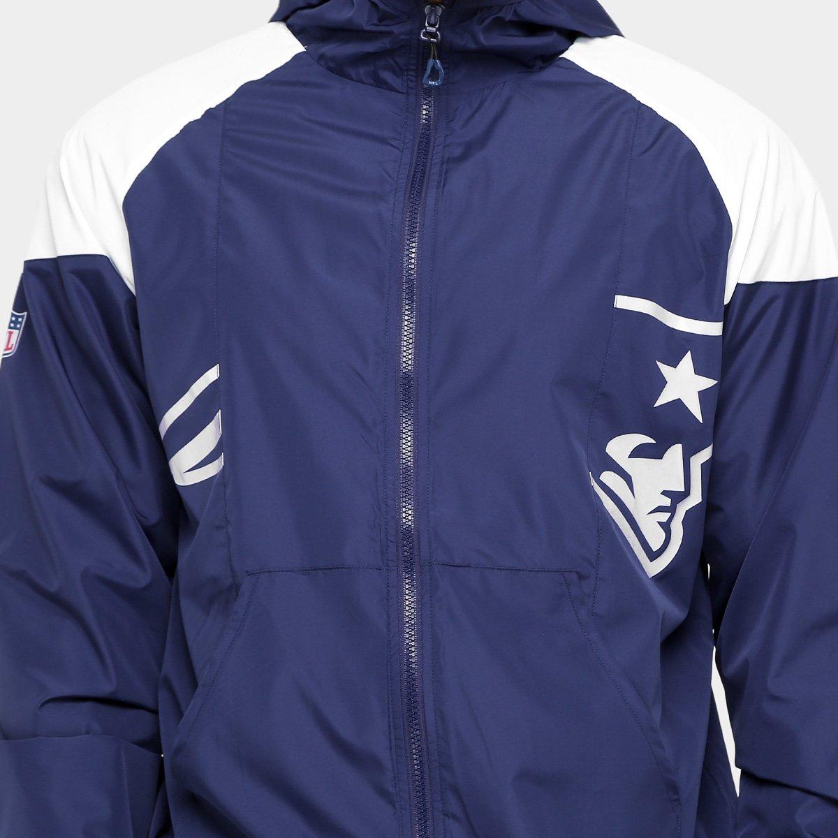 ... Jaqueta New England Patriots New Era NFL Windbreaker Masculina ... e8a281a49b7e9