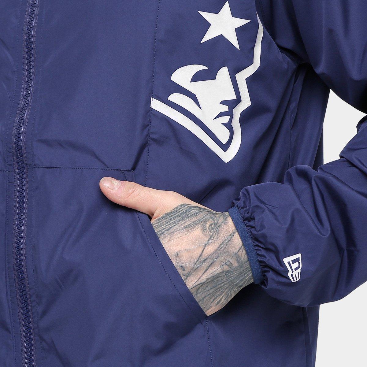Jaqueta New England Patriots New Era NFL Windbreaker Masculina ... 945647d78f5dc