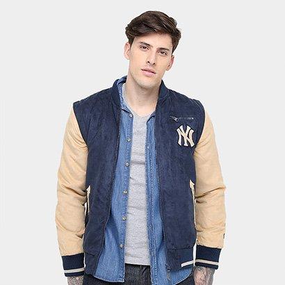 53f01ef7db0fa Jaqueta New York Yankees New Era 2 Em 1 Varsity 1 Masculina - Masculino