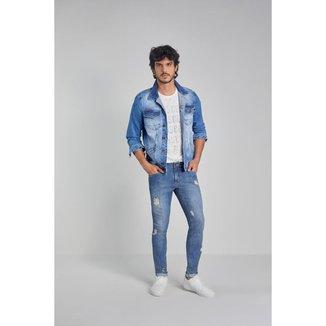 Jaqueta Osmoze Denim 114120051 Azul - Azul - EG