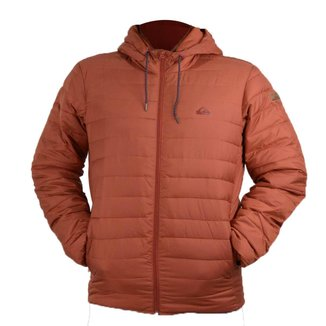 Jaqueta Quiksilver Scaly  Barn Red