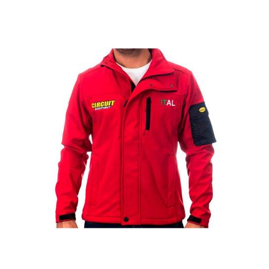 Jaqueta Softshell Circuit Italia - Vermelho