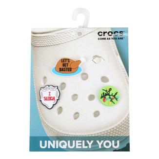 Jibbitz Infantil Crocs New Holiday - 3 Packs