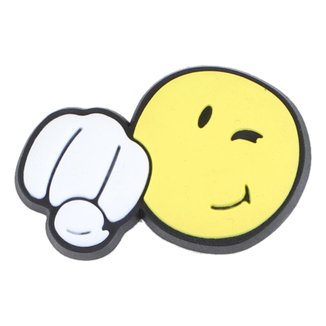 Jibbitz Infantil Crocs Smiley Fist Bump