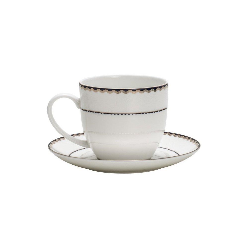 a679727ebc Jogo de Xícaras de Chá de Porcelana com Pires