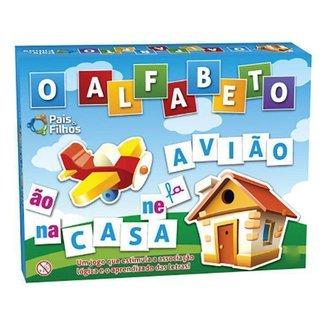 Jogo O Alfabeto Tabuleiro