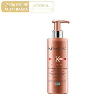 Kérastase Discipline Curl Ideal Light Poo Condicionador Limpante 400ml