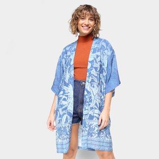 Kimono Cropped Farm Jurua Feminino