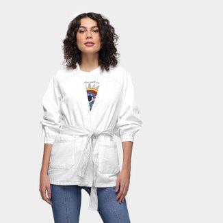 Kimono Dzarm Faixa Feminino