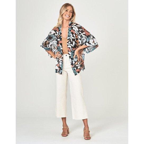 Kimono Zinzane Agnes P - OFF WHITE - Off White