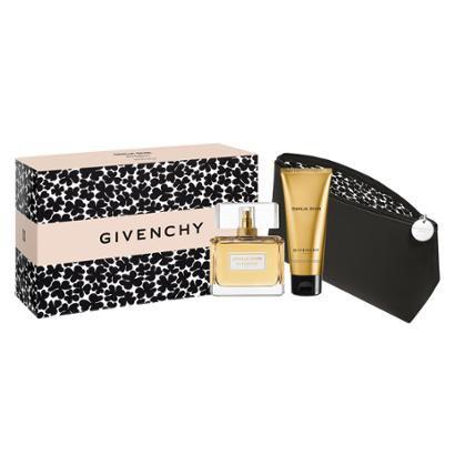 Kit 1 Perfume Dahlia Divin Givenchy Feminino Eau de Parfum 75ml + 1 Body Lotion 75ml + 1 Nécessaire