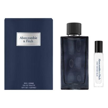 Kit 1 Perfume Masculino Abercrombie Fitch Instinct Men Blue EDT 100ml + 1 Perfume EDT Travel 15ml