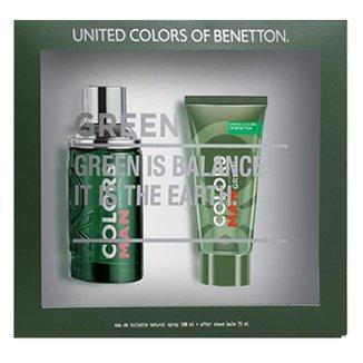 Kit 1 Perfume Masculino Benetton Colors 100ml 1 Pós Barba 75ml