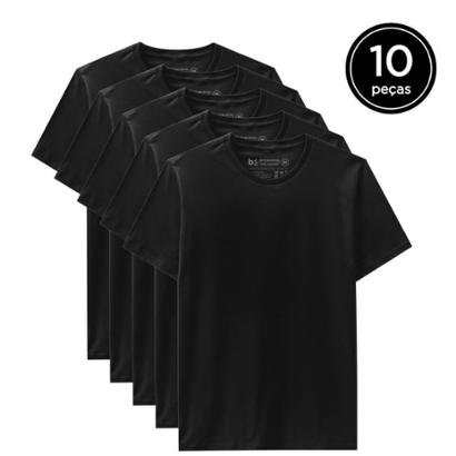 Kit 10 Camisetas Basicamente Masculino