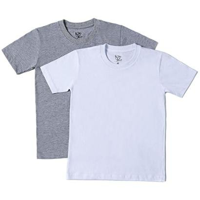 Kit 2 Camisetas Infantil Jokenpô Básica Masculina