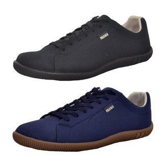 Kit 2 Pares de Sapatênis Top Franca Shoes Casual Masculino