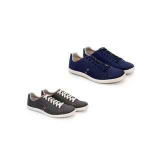 Kit 2 Pares de Sapatênis Trivalle Shoes Masculino