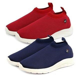 Kit 2 Tênis BR2 Footwear Meia Leve Palmilha Gel Masculino