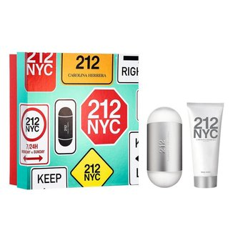 Kit 212 NYC Carolina Herrera Perfume feminino EDT + Hidratante Corporal