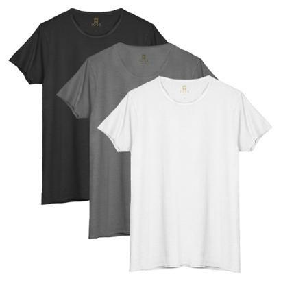 Kit 3 Camisetas Joss Estonadas Masculino