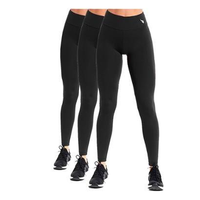 Kit 3 Legging Work Unlimit Feminina