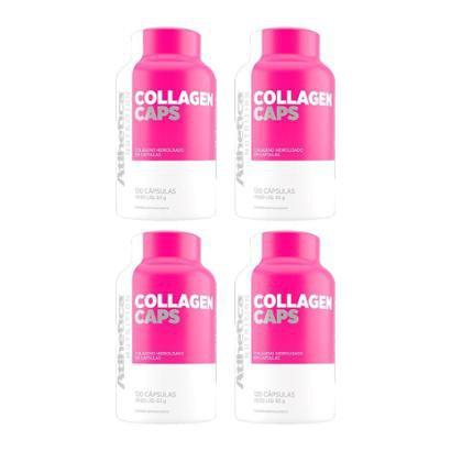 Kit 4X Collagen Caps Ella Atlhetica 120 Cápsulas-Feminino