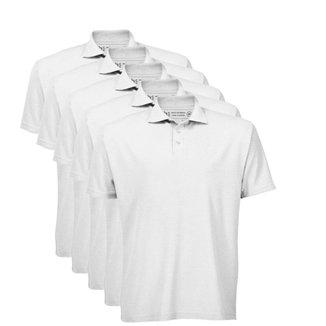 Kit 5 Camisas Polo Basicamente Masculino