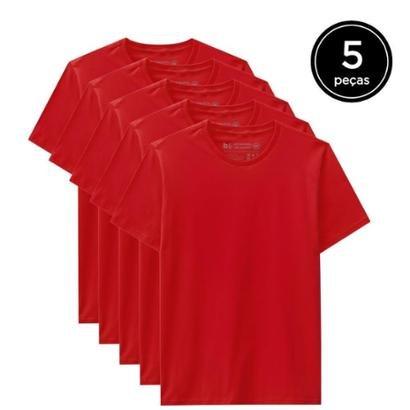 Kit 5 Camisetas Basicamente Masculino