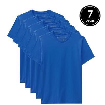 Kit 7 Camisetas Basicamente Masculino