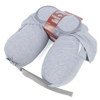 Kit Almofada de Pescoço com Capuz e Máscara de Dormir para Viagem - Polo King