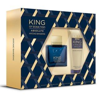 Kit Antonio Banderas King Of Seduction Absolute - Eau de Toilette 100ml + Pós-barba 75ml