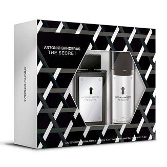 Kit Antonio Banderas The Secret - Eau de Toilette 100ml + Desodorante 150ml