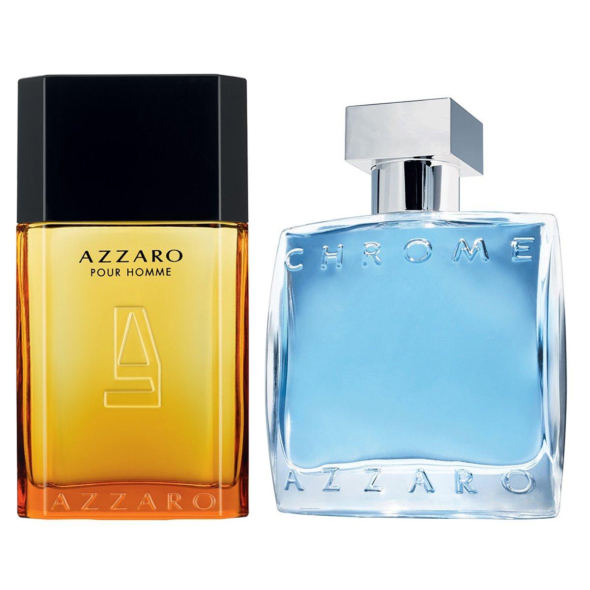 47e87500c9 Kit Azzaro Perfume Masculino Azzaro Pour Homme EDT 30ml + Perfume Masculino  Chrome EDT 30ml - Compre Agora