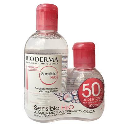 Kit Bioderma Sensibio H2O Solução Micellare 250Ml + 1 Solução Micellare 100Ml-Feminino