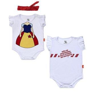 Kit Bodies Bebê Jokenpô Fada 2 Peças Feminino