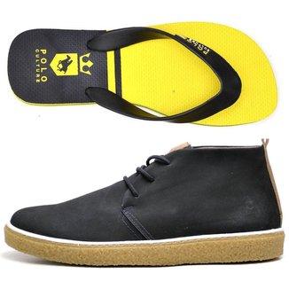 Kit Bota + Chinelo Top Franca Shoes Masculino