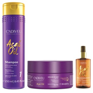 Kit Cadiveu Professional Açaí Oil Home Care