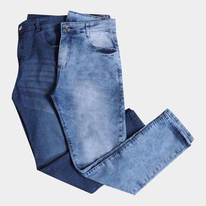 Kit Calça Jeans Skinny Evidence 2 Peças Masculino