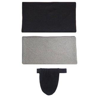Kit Calupa com 2 Faixas e 1 Extensor de Calça para Gestante