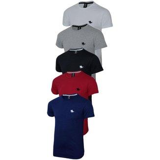 Kit Camisas Polo Masculina Cores Incríveis