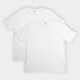 Kit Camiseta Básica Hering - 2 Peças