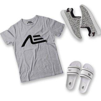 Kit Camiseta Tênis e Chinelo Adaption Masculino