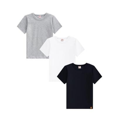 Kit Camisetas Básicas Masculina Brandili