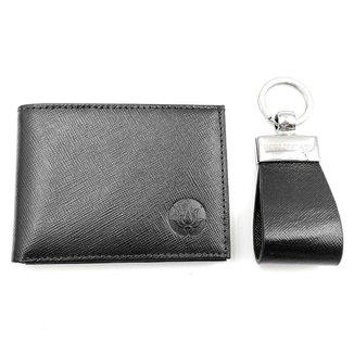 Kit Carteira Pocket e Chaveiro W.Buscatti Masculino